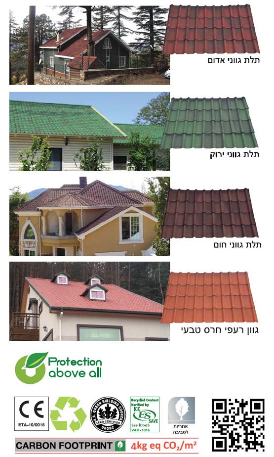 גגות קלים אונדולין